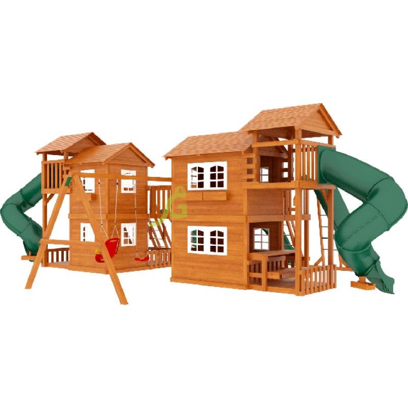 Детская деревянная площадка IgraGrad Домик 7