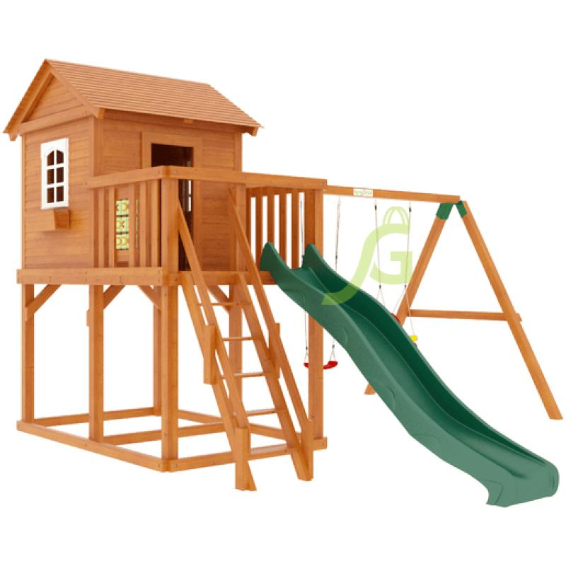 Детская деревянная площадка IgraGrad Домик 1