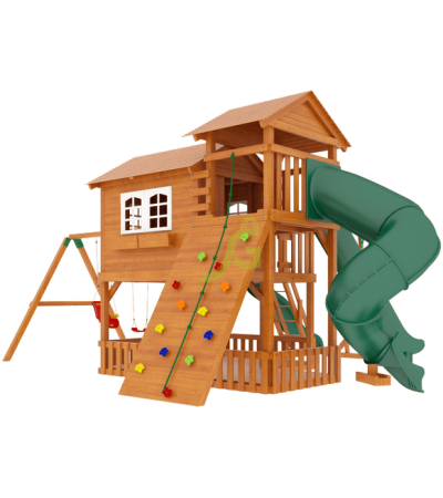 Детская деревянная площадка IgraGrad Домик 5