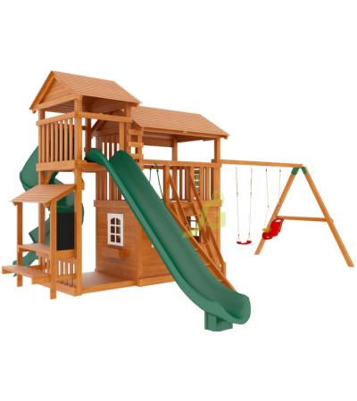 Детская деревянная площадка IgraGrad Домик 4