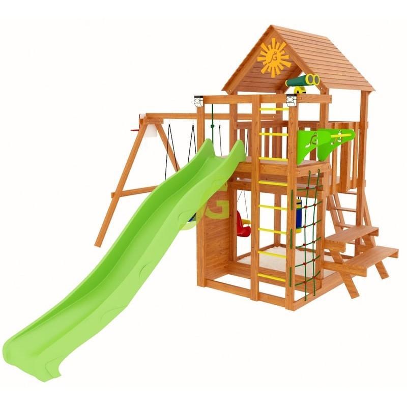 Детский городок для дачи IgraGrad Крафт Pro 3