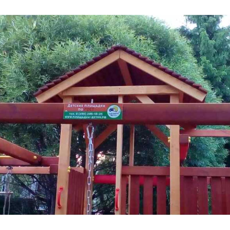 Крыша деревянная для ДГ