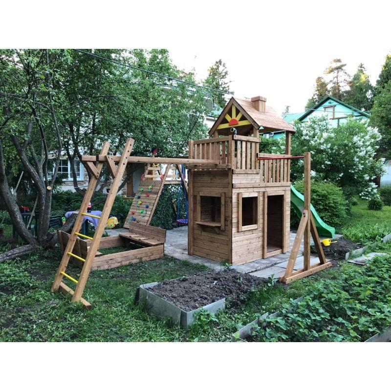 Детская площадка Выше Всех Крепость Застава