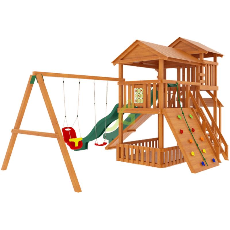 Детская деревянная площадка IgraGrad Домик 3