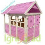 Детский деревянный домик IgraGrad