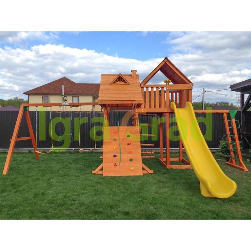Детская площадка IgraGrad Крепость Deluxe Плюс