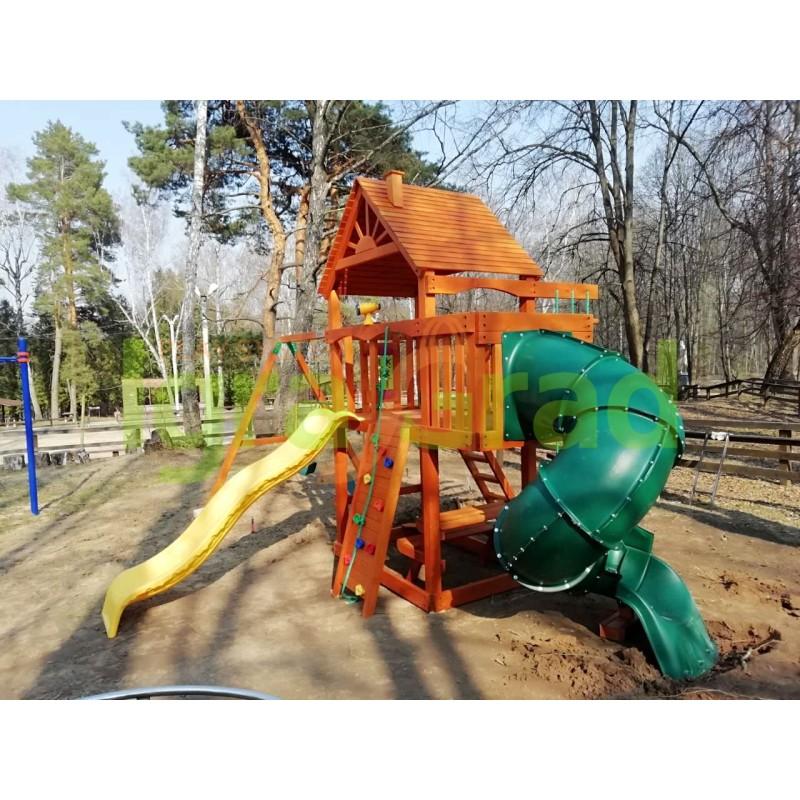 Детская площадка IgraGrad Шато с трубой (Дерево)