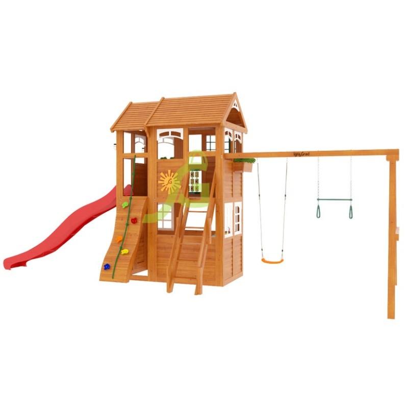 Детская площадка IgraGrad Клубный домик 2 Luxe