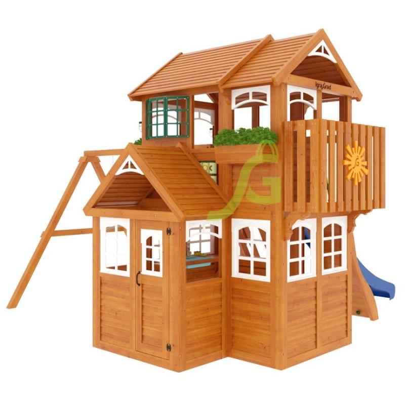 Детская площадка IgraGrad Клубный домик 3 Luxe