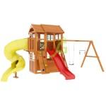Детская площадка IgraGrad Клубный домик 3 с трубой Luxe
