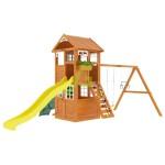 Детская площадка IgraGrad Клубный домик с трубой Luxe