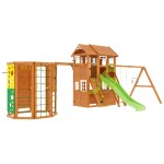 Детская площадка IgraGrad Клубный домик 2 с WorkOut Luxe