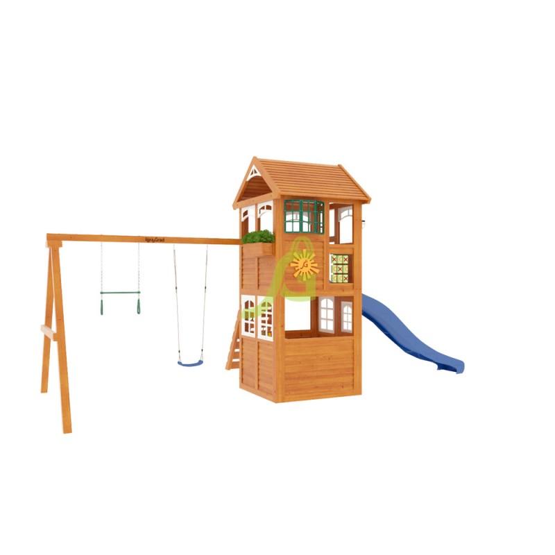 Детская площадка IgraGrad Клубный домик Luxe