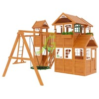 Детская площадка IgraGrad Клубный домик Макси Luxe