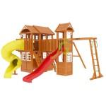 Детская площадка IgraGrad Клубный домик Макси с трубой Luxe