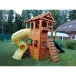 Детская площадка IgraGrad Клубный домик 3 с трубой