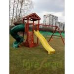 Детская площадка IgraGrad Панда Фани с винтовой трубой