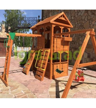 Детская площадка IgraGrad Клубный домик 2 с рукоходом