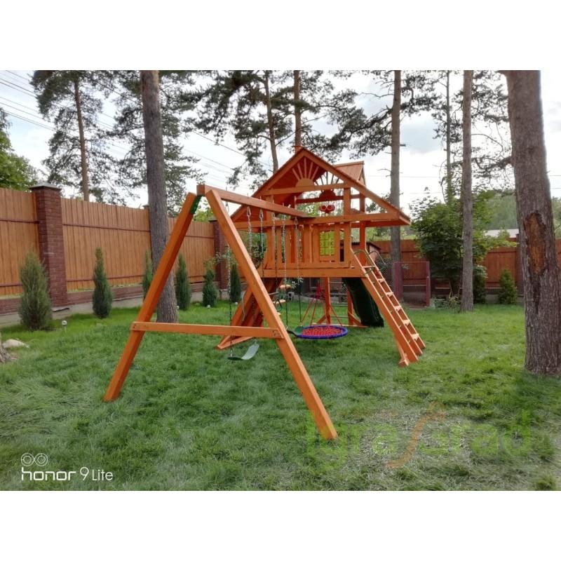 Детская площадка IgraGrad Крепость с рукоходом (Дерево)