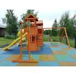 Детская площадка IgraGrad Клубный домик Макси с трубой