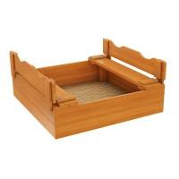 Детская деревянная песочница IgraGrad Ладушки