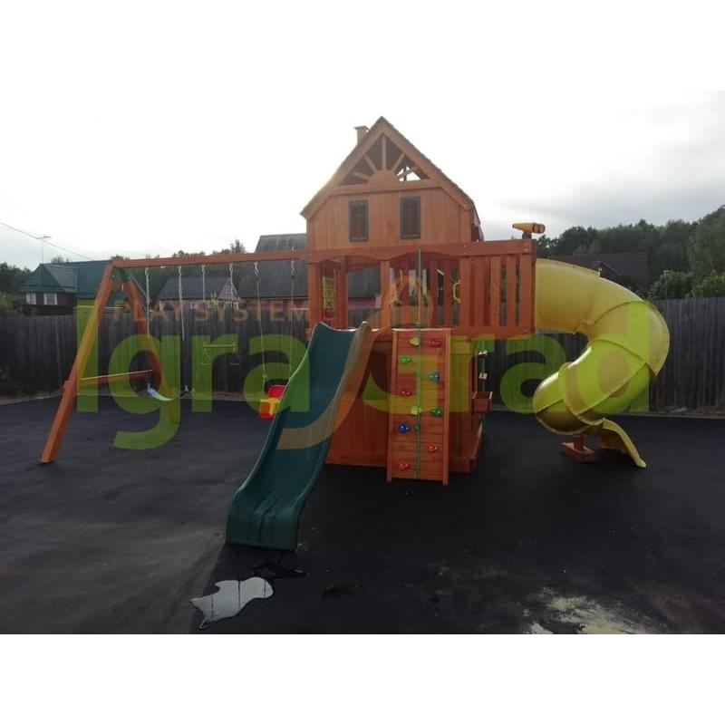Детская площадка IgraGrad Шато с трубой (Домик)