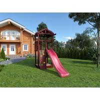 Детская площадка IgraGrad Панда Фани Tower скалодром