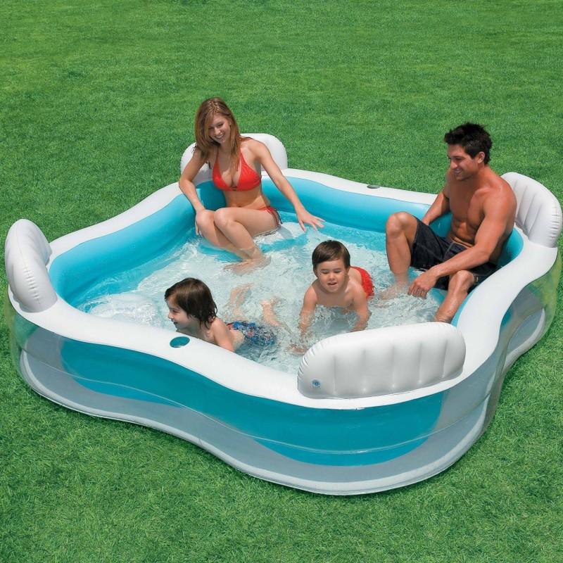 Бассейн Intex Swim Center Family Lounge