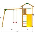 Детский игровой спортивный комплекс Jungle Gym Jungle JC2 Митридат
