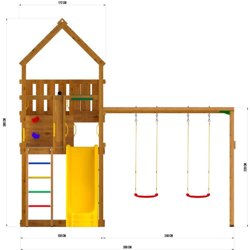 Детский игровой комплекс Jungle Gym JP9 Дуарте
