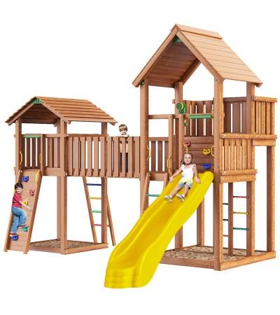 Детский игровой комплекс Jungle Gym JВ3 Монблан