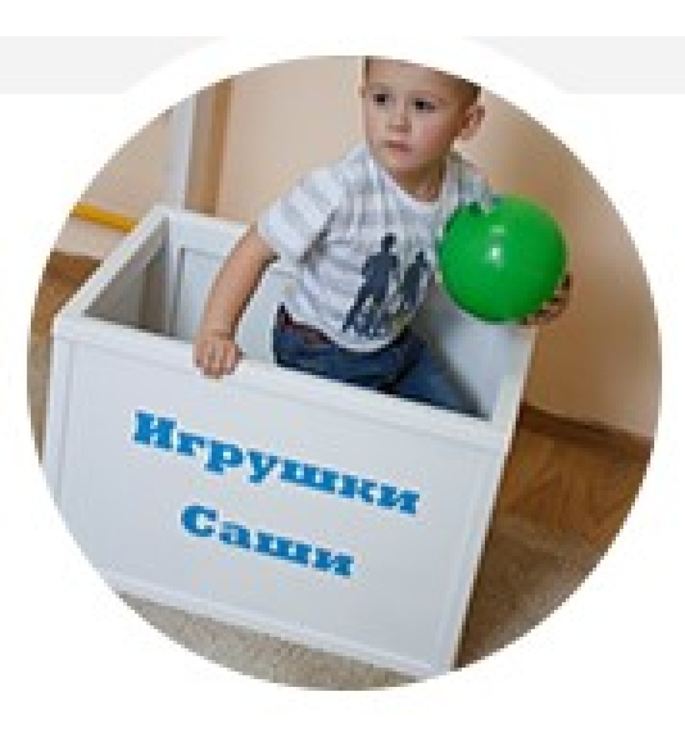Ящик для игрушек именной