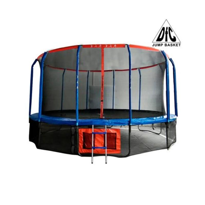 Батут DFC Jump Basket c сеткой 16FT-JBSK-B