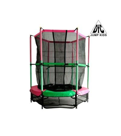 Батут DFC Jump Kids 55 (Зелено-розовый)