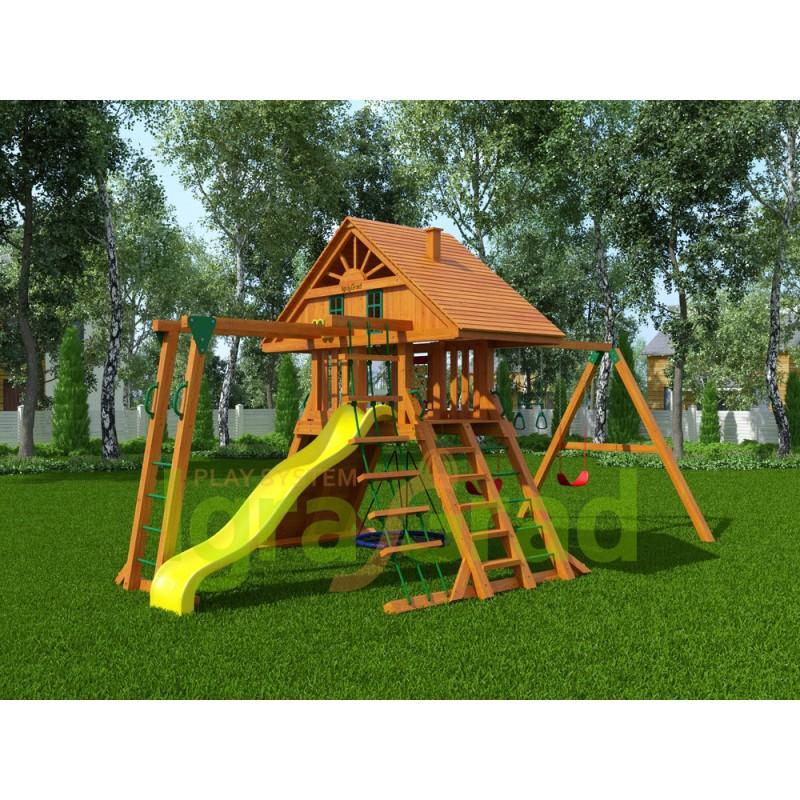 Детская площадка IgraGrad Крепость Фани с рукоходом (Домик)