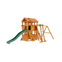 Детская площадка IgraGrad Клубный домик 2 с трубой и рукоходом