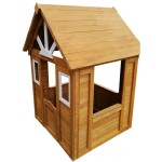 Игровой домик детский из дерева Солнечный Р910