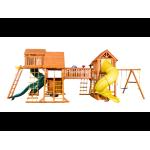 Игровая  площадка Playgarden Mega SkyFort с двумя игровыми домиками и переходом