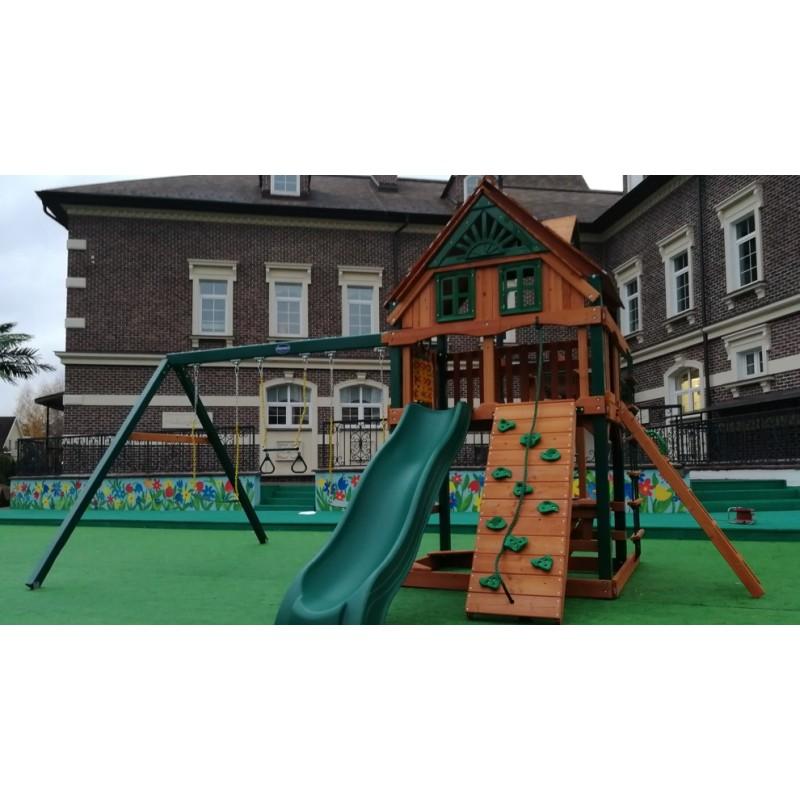 Игровая площадка Playnation Рассвет Трихауз с рукоходом