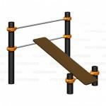 Workout  оборудование спортивное Скамья Romana 501.33.01