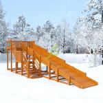 Зимняя горка Snow Fox, скат 8 м