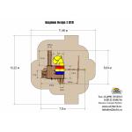 Игровой комплекс Rainbow King Kong Castle V WR