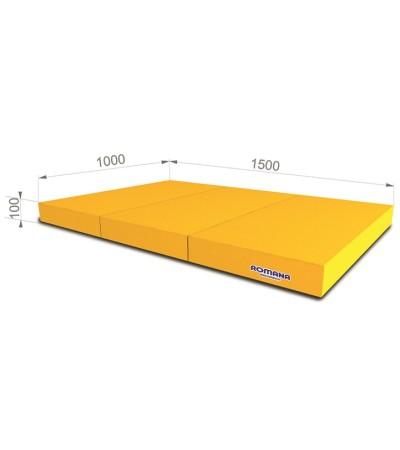 Мат Romana pro 1000*1500*100 в 3 сложения