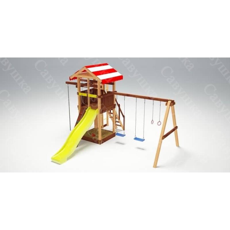 Детская площадка Савушка 4 сезона - 3