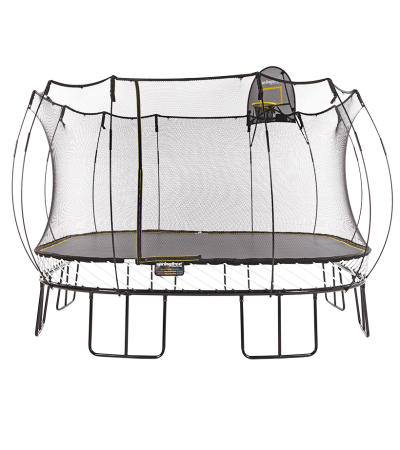 Батут Springfree квадратный S155 H с Корзиной для мяча