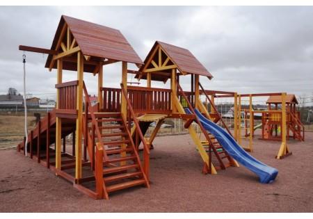 Сборка и установка комплексов Савушка Люкс 9 и Baby Play 15