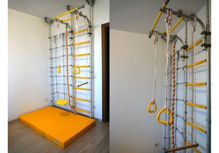 Сборка и установка шведской стенки Romana Karusel R3