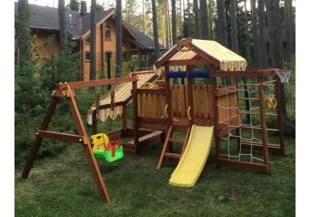Сборка и установка деревянного комплекса Савушка-Baby - 12 (Play)