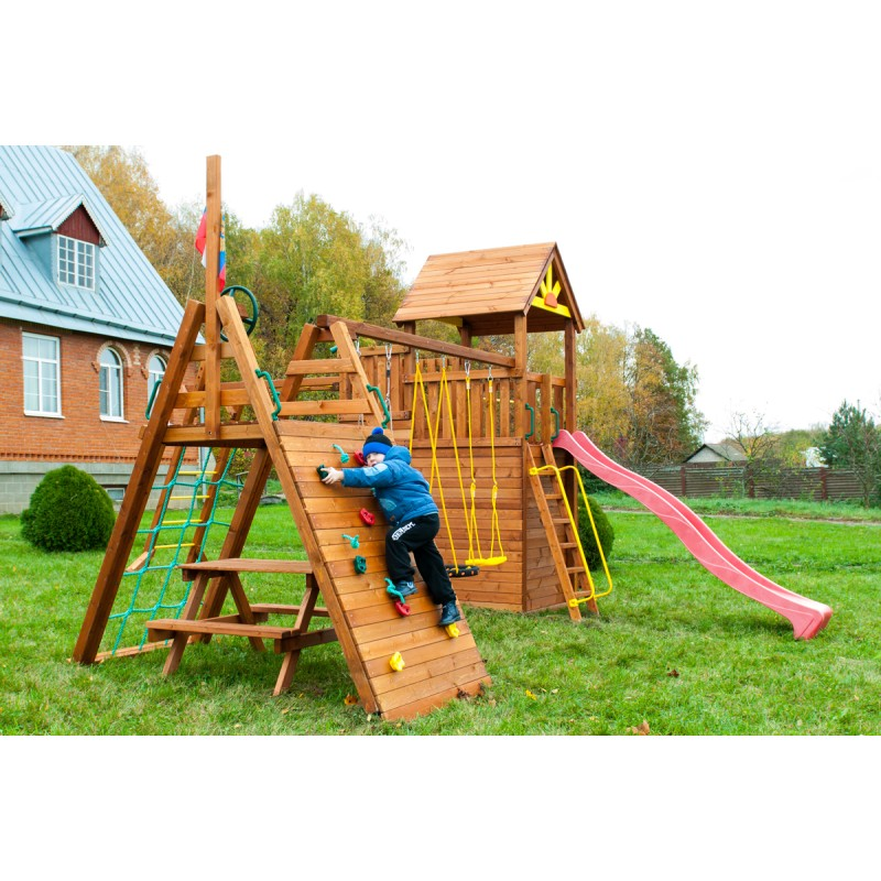 Детская площадка Выше Всех Крепость Спорт